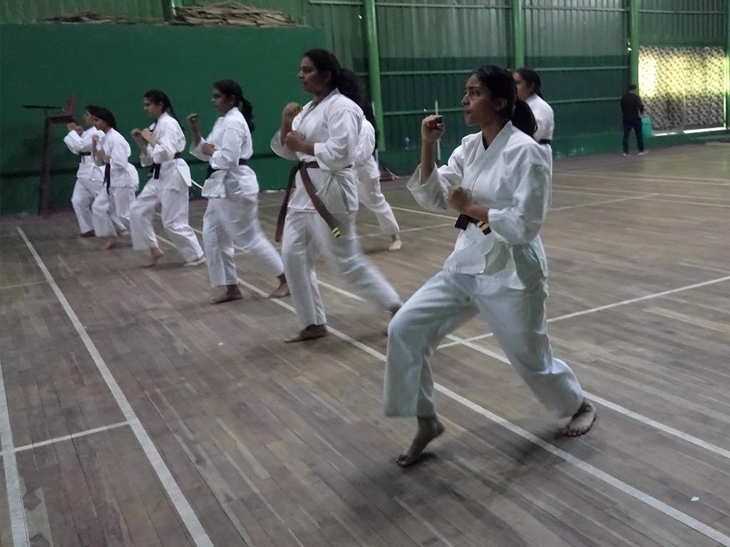 Black Belt Karate Exam